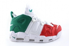 """Nike Air More Uptempo """"Italy"""" White/Green/Red"""