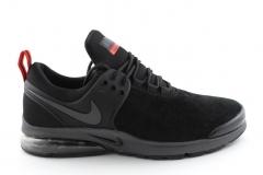 Nike Air Presto Black/Red Suede