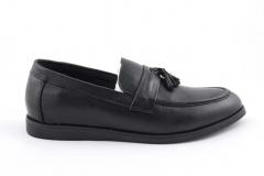 Rasht Loafers Black Leather RST3