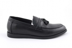 Rasht Loafers Black Leather RST3