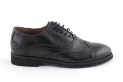 Rasht Oxford Black Leather RST5