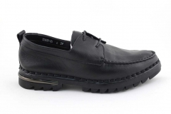 Rasht Sneaker Black Leather RST8