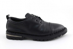 Rasht Sneaker Black Leather RST6