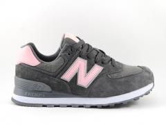 New Balance 574 Grey/Pink