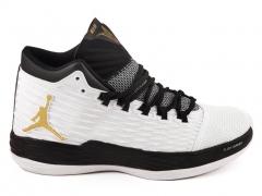Air Jordan Melo M13 White/Black/Gold AJ19