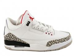 Air Jordan 3 Retro White/Cement AJ19
