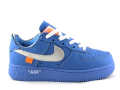 "Nike x Off-White Air Force 1 Low ""MCA Blue"""