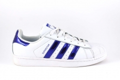 Adidas Superstar White/Blue