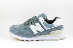 New Balance 574 Grayish Blue Suede