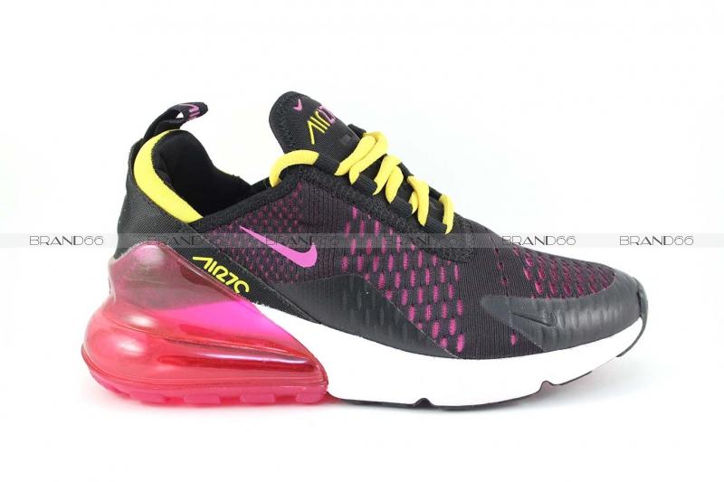 84825891 Кроссовки Nike Air Max 270 Black/Purple/Yellow купить в Екатеринбурге