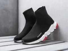 Balenciaga Speed Runner Sock Black/Red