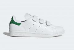 Adidas Stan Smith Strap White/Green