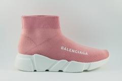 Balenciaga Speed Stretch-knit Mid Pink