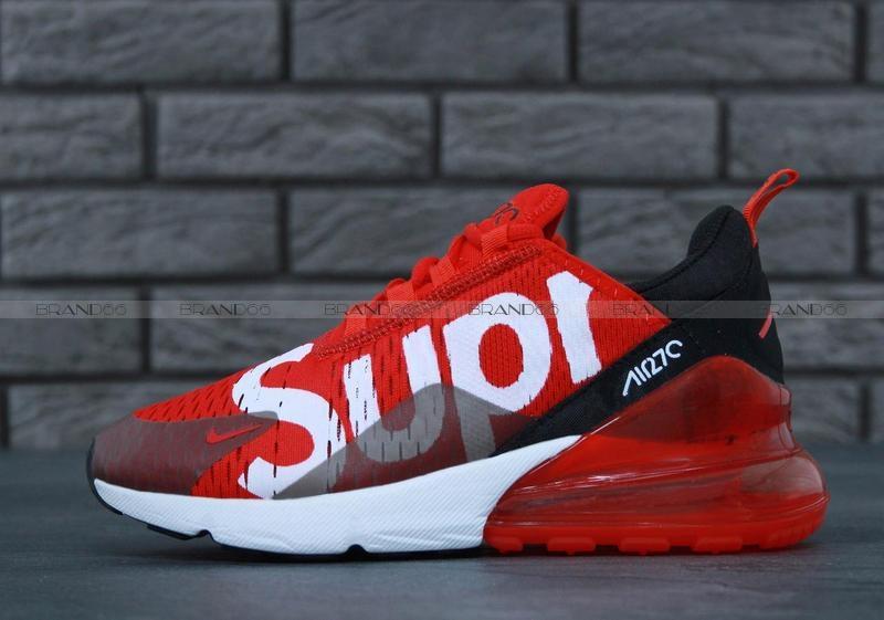 f70c746b Кроссовки Nike Air Max 270 x Supreme Red купить в Екатеринбурге ...