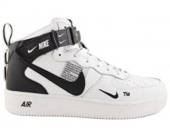 Nike Air Force 1 Mid '07 LV8 Utility White (натур. мех)
