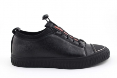 Prada Sneaker Black Leather PRD3
