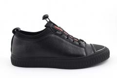 Prada Sneaker Black Leather PRD3