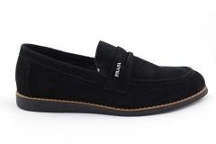 Prada Loafers Black Suede PRD2