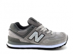 New Balance 574 Suede Grey/Silver NB19