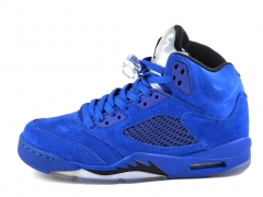 Air Jordan 5 Retro Blue Suede