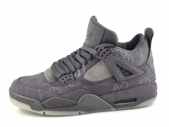 Air Jordan 4 Retro Grey Suede