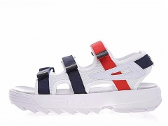 Fila Disruptor Sandals White/Red/Navy