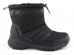 Ботинки Adidas Terrex Black (с мехом)