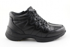 Ecco Biom Black Leather (с мехом)