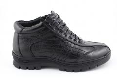Ecco Black Leather (с мехом) ECBM3