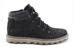 Зимние замшевые ботинки A052