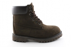 Timberland 6-inch Brown (с мехом)