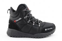 Ботинки Columbia Fairbanks Black/White (с мехом)