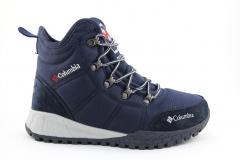 Ботинки Columbia Fairbanks Dark Blue (с мехом)