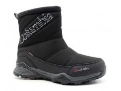 Ботинки Columbia Waterproof Black/White W19 (с мехом)