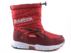 Дутики Reebok Waterproof Red (с мехом)