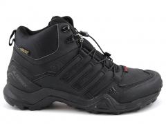 Adidas Terrex SwiftR Mid Black (натур. мех)