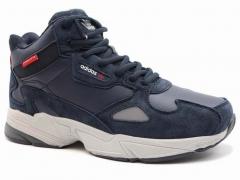 Adidas Falcon Mid Navy AD20 (с мехом)