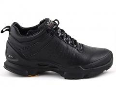 Ecco Biom C Leather Black (натур. мех)