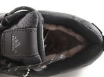Adidas Climaproof  Low Black/Red (натур. мех)