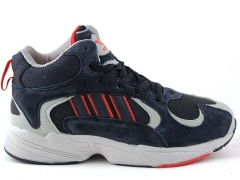 Adidas Yung 1 Navy (с мехом)