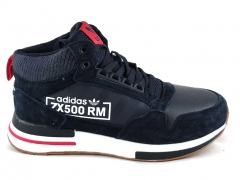 Adidas ZX 500 Blue AD20 (с мехом)