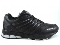 Bona Leather Black (с мехом)