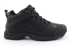 Adidas Climaproof Mid All Black (с мехом)