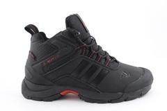 Adidas Climaproof Mid Black/Red (с мехом)