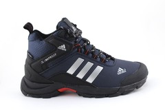 Adidas Climaproof Mid Navy/White (с мехом)