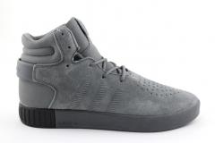 Adidas Tubular Invader Grey (с мехом)
