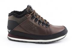 New Balance 754 Brown Leather (с мехом)