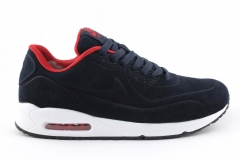 Nike Air Max 90 VT dark blue (натур. мех)