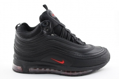 Nike Air Max 97 Mid Black/Red (с мехом)