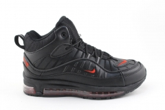 Nike Air Max 98 Mid Black/Red (с мехом)